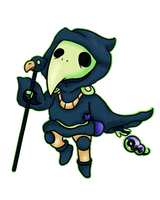 Plague Knight by Cosmic-Eevee