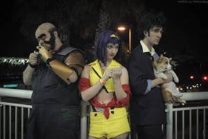 Cowboy Bebop - Quick Rest by seethroughcrew