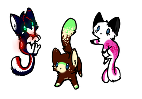 Kitty Adopts (1 left) by Doom-Duck