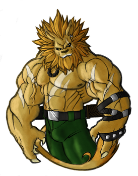 Leomon by tkc2021 by gogui
