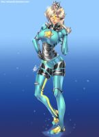 Armored Rosalina - Commission by xdtopsu01