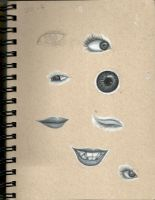 Sketchbook #2 - whatevertheseare by Ariah101