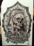 Skull Saint by scoot75