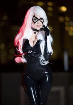Vampy bit me as Black Cat by Tommy-TheDirtDen