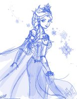 Arendelle Queen by Khamykc-Blackout