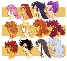 saint seiya - gold saints by spoonybards