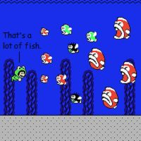 Mario - That's a Lot of Fish by mariomaster88
