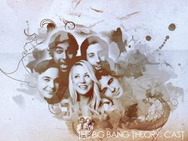 The Big Bang Theory Cast by Soraessence