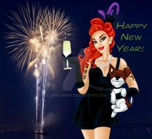 New year's wishes by janecandy