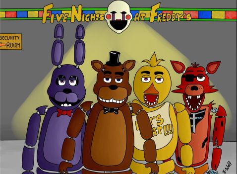 Five Nights at Freddy's by Tory-wolf