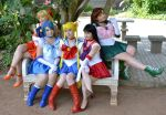 Sailor scouts by S-Lancaster