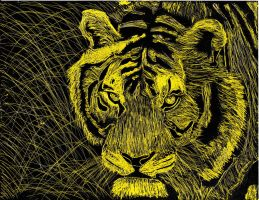 Yellow Tiger by DJBoomBase