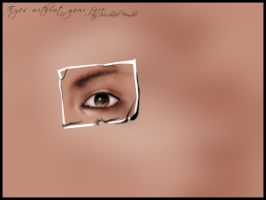 Eyes without your face by michavonder