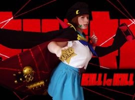 Mako Mankanshoku Cosplay - Kill la Kill by MeirouTenshi