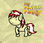 Pixel Dot The Paper Pony by MLP-Scribbles