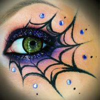 maquillaje Halloween by Keyra007