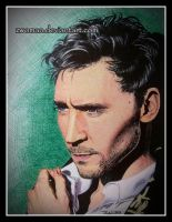 Tom Hiddleston (in biro) by zwoman