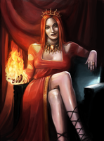 Melisandre of Asshai by Afternoon63