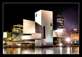 Rock Hall - Night by Zephania