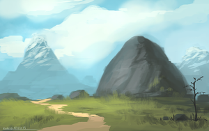 Mountain Tops by ehecod