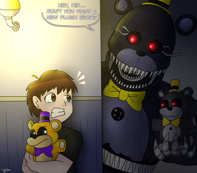 An Exclusive Plush... by FNaF2FAN