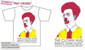 THe clown we being sarcastic by titoyusuf