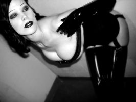 Black Gloss and Latex by CalliopesRoom
