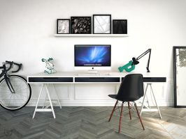 Desk by Phanox