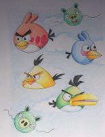 Angry Birds by Freddy-Kun-11