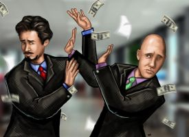 Tony Stark vs. Lex Luthor :Reality by HeroforPain