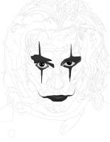 The Crow Pen (Brandon Lee) work 1 by daylover1313