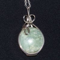 Green Jade in Silver by innerdiameter