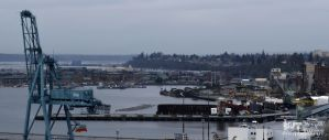 Wet day in Everett WA by RoadKillConcepts