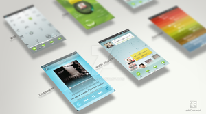 Mobile Phone Interface Themes by cwxl