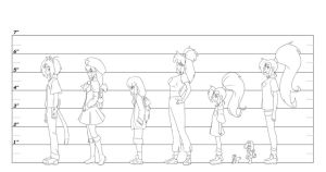 White World Height chart by Kojiro-Brushard