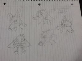 Solitude's Emotions Sketches by Live-Laugh-Loki