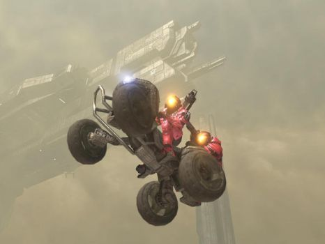 Flying Mongoose, Halo 3 by Rone20