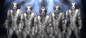 10 Days of Doctor Who Challenge: Cybermen by ElementalAngel