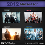 2012 Midseason TV Series Folders by paulodelvalle
