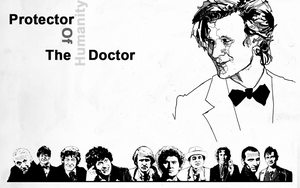 Doctor Who Wallpaper by Slavia1