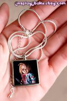 Chucky-Childs Play Necklace by xLilithScreamx