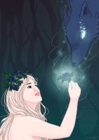 A flower for the bad wolf by Anolee