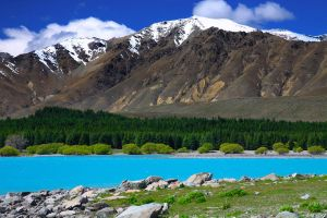 New Zealand Mount Cook by waspo