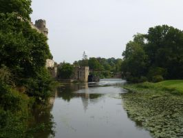 Castle by the river by mickyjenver