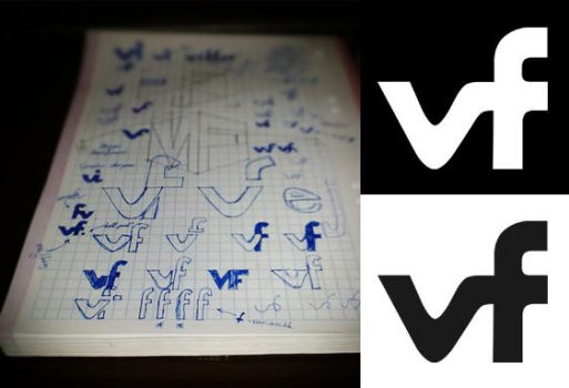 The Making of 'VF logo' by l1901