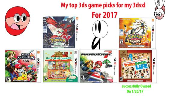 The games i would get by flipboy12