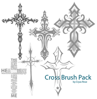 Cross Brush Pack by cryas