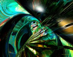 Drk and Light of Abstract Fx by OvahFxDigitalRealm