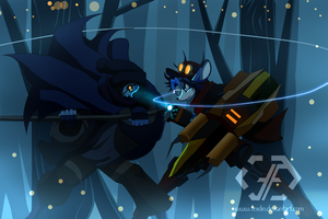 Maux vs Roe by Fexdin