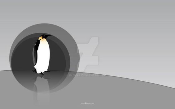Penguin by floina